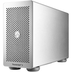 Akitio T3PC-T3DIS-AKTUP 1.2TB Thunder3 External PCIe SSD Box Enclosure