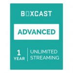 BoxCast Advanced 1-Year Live Streaming Subscription BXC-PLAN-ADV