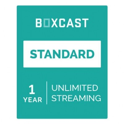 BoxCast Standard 1-Year Live Streaming Subscription BXC-PLAN-STAN