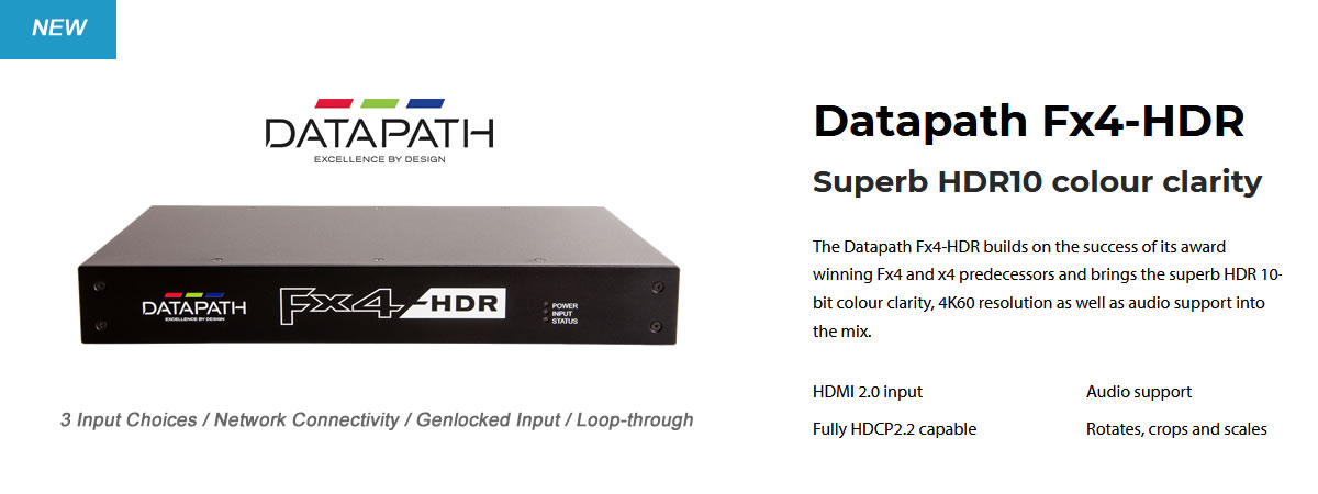 Datapath FX4-HDR Video Wall