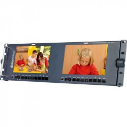 Datavideo TLM-702HD Dual 7 Inch LCD TFT Broadcast Monitor