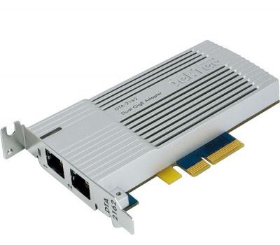 DekTec DTA-2162-SLP Dual Gigabit Ethernet Adapter