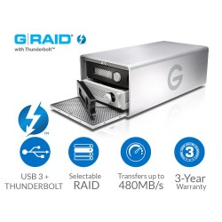 G-Technology G-RAID 12TB Thunderbolt USB 3.0 0G04093