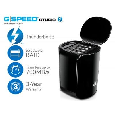 G-Technology G-SPEED Studio 12TB RAID Thunderbolt 2 Storage 0G03294