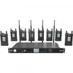 Hollyland SYSCOM 1000T 8 Belt Packs Full Duplex Intercom System