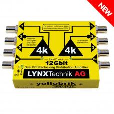LYNX Technik DVD 1423 12G Dual 1:3 SDI Distribution Amplifier