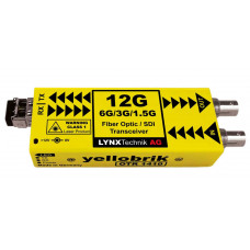 LYNX Technik OTR 1410 12G/6G/3G/1.5G SDI Fiber Transceiver