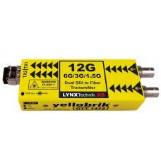 LYNX Technik OTT 1412 Dual Channel 12G SDI to Fiber Optic Transmitter