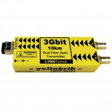 LYNX Technik OTT 1812 SD/HD/3G Dual SDI to Fiber Optic Transmitter 10km