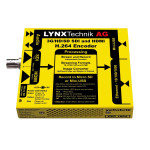 LYNX Technik PEC 1864 3Gbit SDI/HDMI H.264 Streamer Recorder