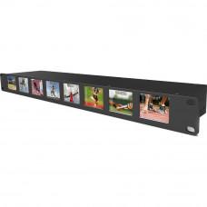 Lilliput RM-0208S 8x2-Inch 1RU Rackmount Monitors with SDI Equalization Reclock