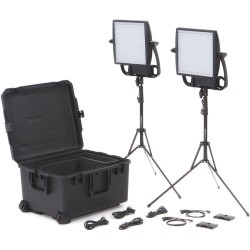 Litepanels Astra EP 1x1 Bi-Color LED Traveler Duo Gold Mount Kit 935-3010