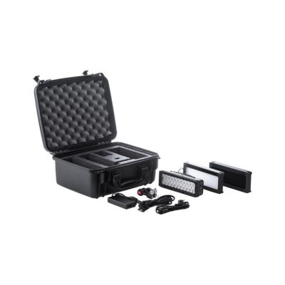 Litepanels Brick Bi-Color Kit with Accessories 910-0001