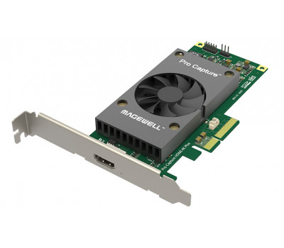 Magewell Pro Capture HDMI 4K Plus One channel UHD capture card