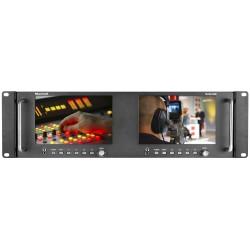 Marshall Electronics M-LYNX-702W Dual Rackmountable Monitor