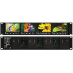 Marshall Electronics V-MD434-3GSDI High Resolution LCD Rack Mount Monitor