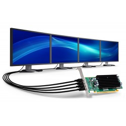 Matrox C420 2GB Four Monitor Graphics Card C420-E2GBLAF
