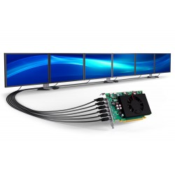 Matrox C680 2GB 6 Monitor Graphics Card PCIe x16 C680-E2GBF