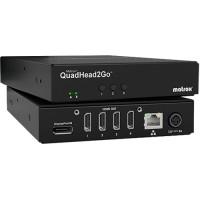 Matrox QuadHead2Go Multi-Monitor Video Wall Controller Q2G-DP4K