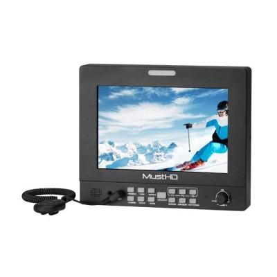 MustHD M703S Hyper-Brite 2200-nit 3G-SDI 7 Inch Field Monitor