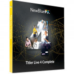 NewBlue Titler Live 4 Complete SKUTL4CO