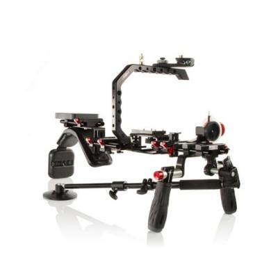 SHAPE Canon C300 Composite Shoulder Mount Rig Bundle COMPOC300