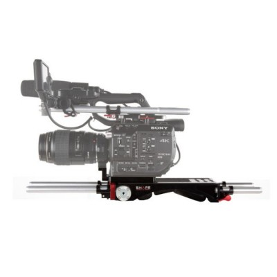 SHAPE Sony FS5 0008 V-Lock Quick Release with Metabones Support FS5BP