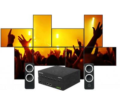 SEADA G4KPro Fanless HDMI Video Wall Controller