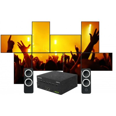 SEADA G4KPro Fanless HDMI Video Wall Controller