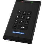 SecureData SecureDrive KP 8TB Encrypted SSD Keypad Authentication