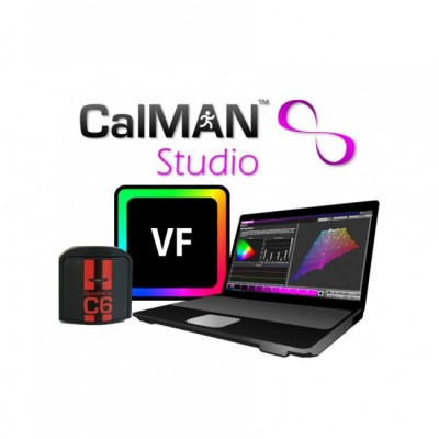 SpectraCal CalMAN Studio with SpectraCal C6 VirtualForge ASMSTC6HVF-A