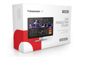 Streamstar KIT HDMI Live Production Streaming Software and Hardware with 4 HDMI Inputs
