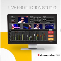 Streamstar SW Live Production and Streaming Software