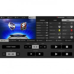 Streamstar ScorePLUS Various Sports Modules