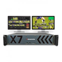Streamstar X7 2U Rack 6 Camera Live Production Streaming Studio