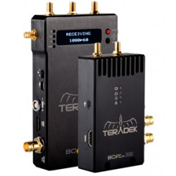 Teradek Bolt 990 Pro 2000 Tx/Rx Set with Dual 3G-SDI and HDMI Input and Outputs