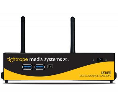 Tightrope Carousel 270 Digital Signage Player Bundle CAR-270-PLR-BND