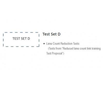 Unigraf DP RefSink Reduced Lane Count Test Set D