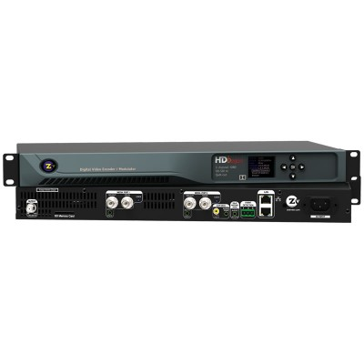 ZeeVee HDB2920-NA 2-Channel HD-SDI Video Encoder QAM Modulator