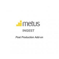 Metus INGEST Post Production Add-on