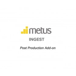 Metus INGEST Post Production Add-on
