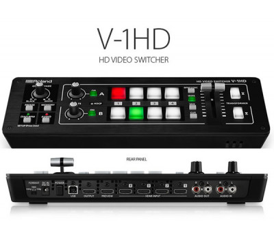 Roland V-1HD Portable Four Channel Video Switcher
